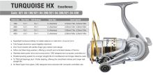 TORQUE HX EXCELLENCE 1000 FD 10+1BB 2 ALU SPOOLS