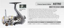 ASTRO HZ2 FINESSE SPEC. EDITION 2000 FD 11+1BB 2 ALU SPOOLS HARD SHELL BOX