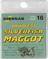 Barbless Silverfish Maggot (VO bal/10s/10ks)