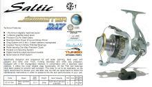SALTIC HK JIGMASTER BAY FD 9+1BB ALU SPOOL + GRAPHITE SPOOL