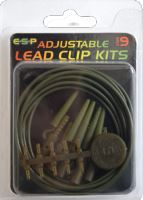 ESP Adj LeadClip Kit Chod Silt bal/5ks