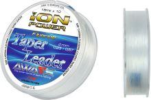 ION POWER FLUORINE TAPER LEADERS 15mtx10 leaders 10 spools pack
