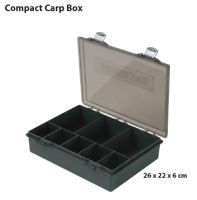 COMPACT CARP BOX MOSS GREEN with Transp.
