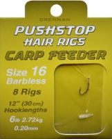 Pushstop Hair Rigs : Carp Feeder (VO bal/5s/8ks)